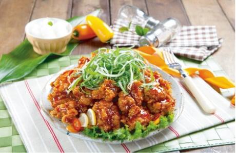 Sweet&Garlic Padak Chicken