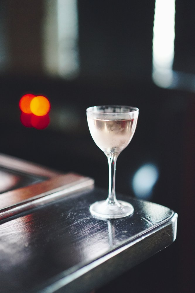 Martini with Lillet Rose
