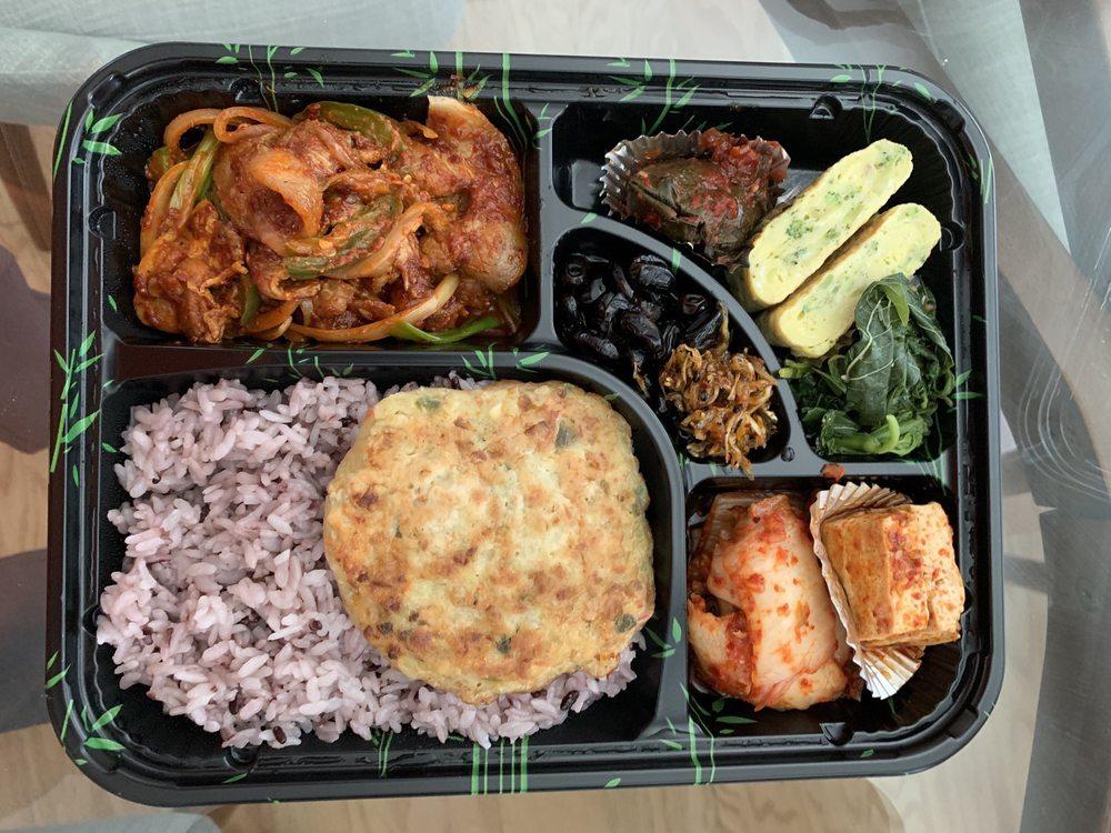 Spicy Pork Bento Box