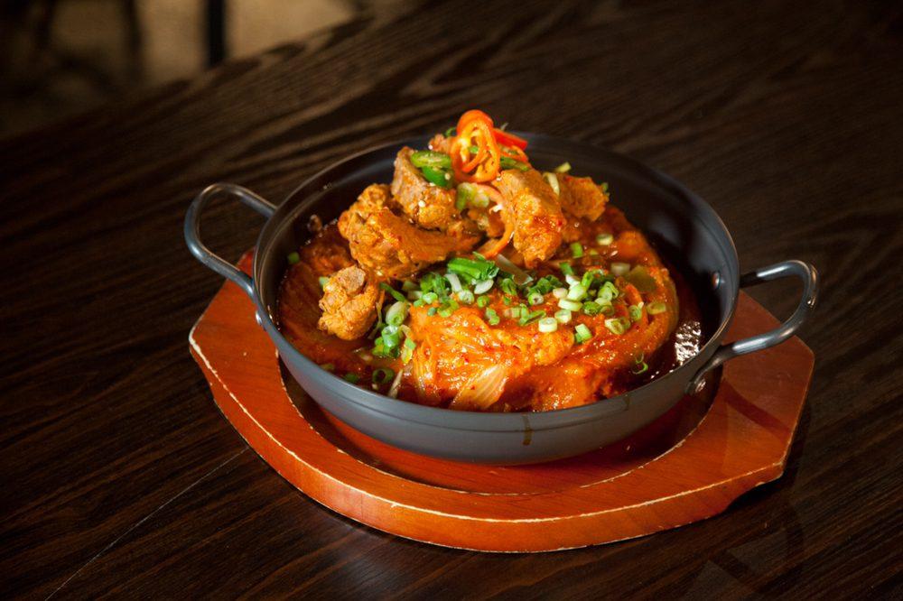 Kimchi Baby back Rib Stew