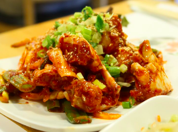 Raw Spicy Crab