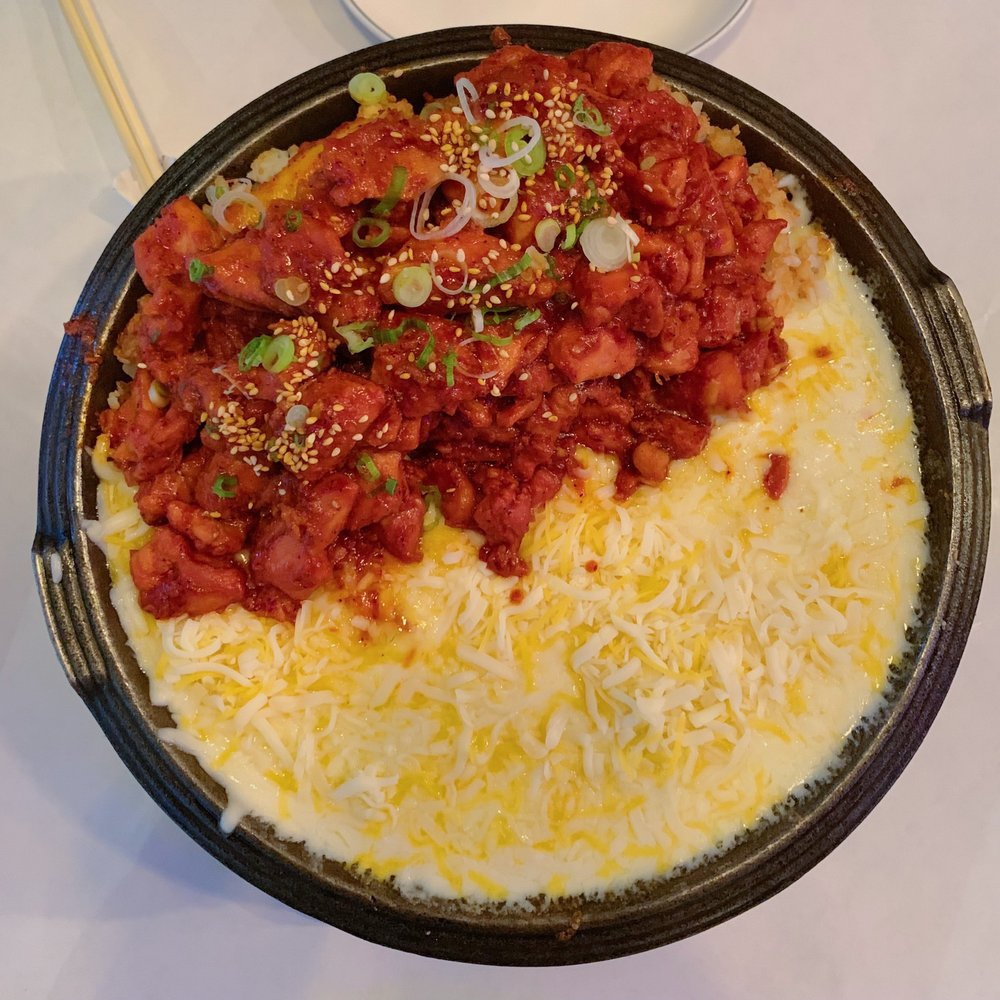 Spicy Chicken with Cheese