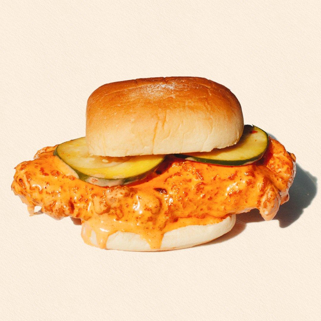 Fried Buffalo Chicken Sandwich