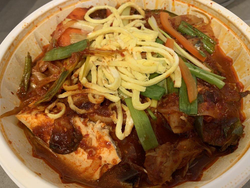 Braised Old Kimchi and Mackerel